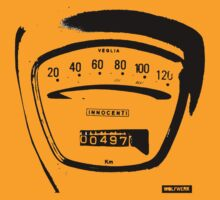 Lambretta Innocenti Veglia Speedo black by wolfwerk