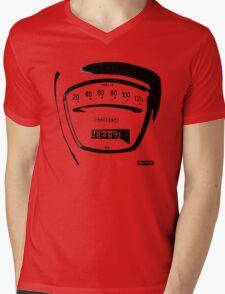 Lambretta Innocenti Veglia Speedo black Mens V-Neck T-Shirt