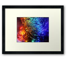 Rainbolic - Experimental Prism Photograph #35 Framed Print