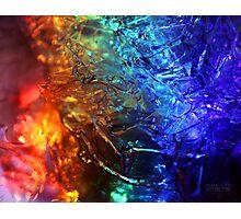 Rainbolic - Experimental Prism Photograph #35 Photographic Print