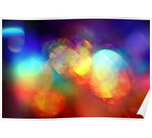 Rainbolic - Experimental Prism Photograph #21C Poster