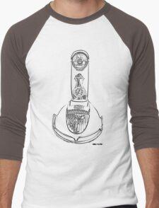 Lambretta TV 175 front Men's Baseball ¾ T-Shirt