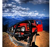 Up Country 4x4 Photographic Print
