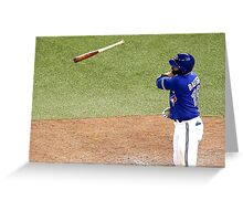 Jose Bautista 2 Greeting Card