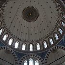 Blue Mosque, Istanbul by Christine Oakley