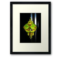 Narcissistic Frog... (Litoria Chloris) Framed Print