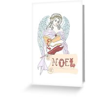 The Angels Did Sing Greeting Card