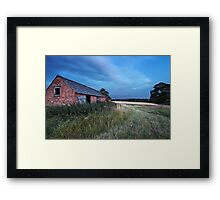 A Barn Door at Twenty Paces Framed Print