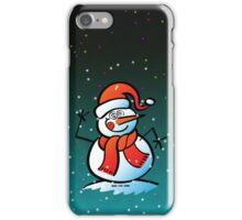Mad Snowman iPhone Case/Skin