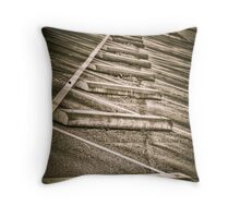 Lonely Lot Throw Pillow