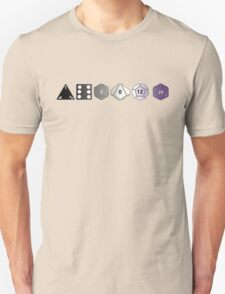 Asexual Pride (Polyhedral Edition) T-Shirt