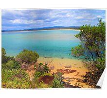 Main Beach, Merimbula Poster
