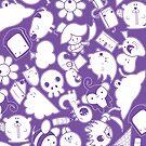 Purple Phone Case by Scott Weston