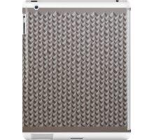Brown Chevrons iPad Case/Skin
