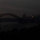 Sydney Sentinel Fire Of Dawn by Anthony Ogle