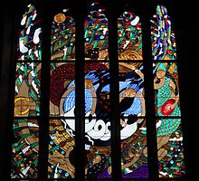 Magdalene Window St Peter's Cathedral Adelaide by Anthony Ogle