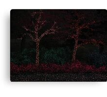 Trees and Shrubs Transformed Canvas Print