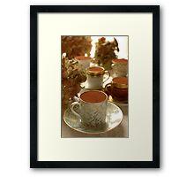 Tasse collection Tiramisu  Framed Print