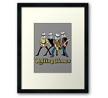 Rolling Clones Framed Print