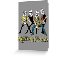 Rolling Clones Greeting Card