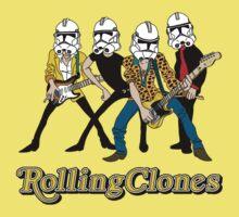 Rolling Clones One Piece - Short Sleeve