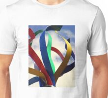 Swirling Ribbons of Spirit Unisex T-Shirt
