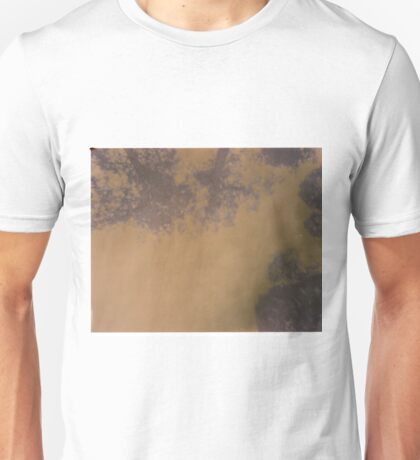 trees and clouds pinhole image Unisex T-Shirt