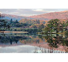 Early morning,Rydal Water  Photographic Print