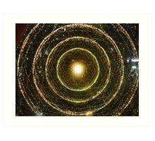Fibre optics Art Print