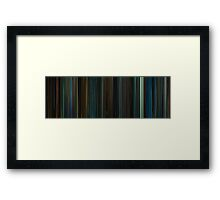 Moviebarcode: Attack the Block (2011) Framed Print