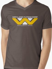 Weyland Yutani Mens V-Neck T-Shirt