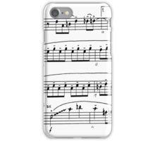 score sketch iPhone Case/Skin