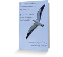 Create Your Own Story Greeting Card