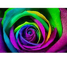 Multi Coloured Photographic Print