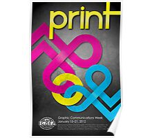 Graphics Communications Week Poster