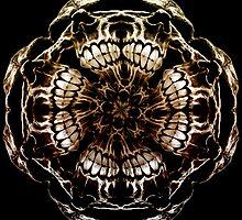 Fractal Skulls by Den McKervey