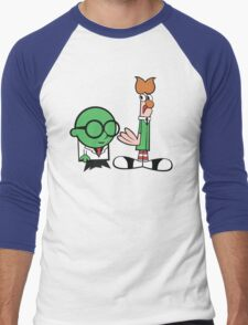 Bunsen's Laboratory (sans text) Men's Baseball ¾ T-Shirt