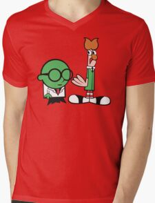 Bunsen's Laboratory (sans text) Mens V-Neck T-Shirt