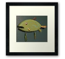 Key chain fish # 4 (SOLD) Framed Print
