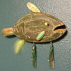 Key chain fish # 7 (SOLD) by Fred Weiler