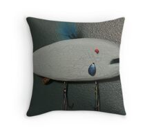 Keychain fish # 8 (SOLD) Throw Pillow