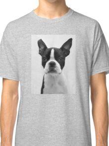 Portrait of Meryl the Boston Terrier Classic T-Shirt