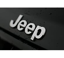 EXTREME WATER REPELLENT - JEEP!! Photographic Print