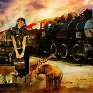 Her Traveling Menagerie by Aimee Stewart