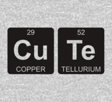 Cu Te - Cute - Periodic Table - Chemistry by Jenny Zhang