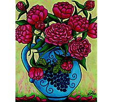 Peony Party Photographic Print