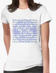Galliphrases Womens Fitted T-Shirt