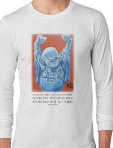 Abundance Buddha Long Sleeve T-Shirt