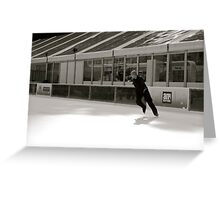 Skate like you'll never get hurt Greeting Card