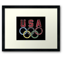 Olympic Games Framed Print